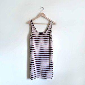 Club Monaco silk striped tank dress - size 2